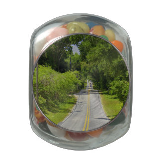 Find A Back Road 2 Jelly Belly Candy Jars