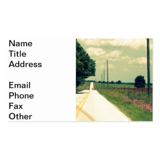 Find A Back Road Double-Sided Standard Business Cards (Pack Of 100)