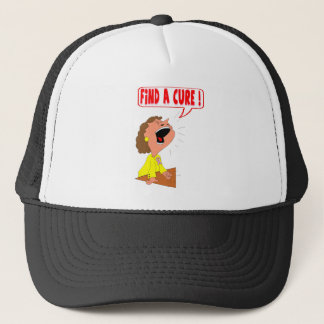 Find A Breast Cancer Cure Hat
