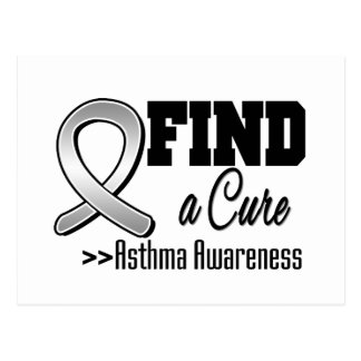 Find a Cure Asthma Awareness Postcard