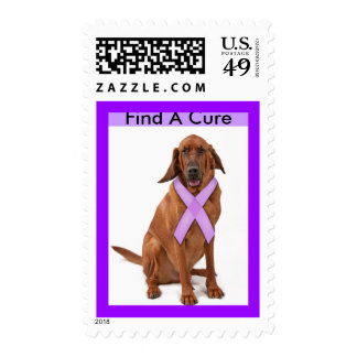 Find A Cure - Bloodhound Stamps
