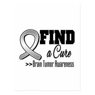 Find a Cure Brain Tumor Awareness Postcards