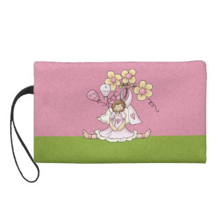 Find a Cure Breast Cancer Awareness Wristlet