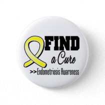 Find a Cure Endometriosis Awareness Button
