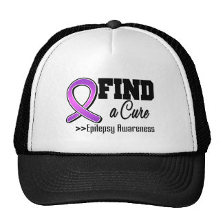 Find a Cure Epilepsy Awareness Trucker Hat