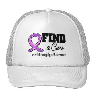 Find a Cure Fibromyalgia Awareness Hat