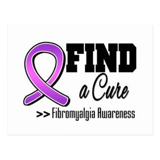 Find a Cure Fibromyalgia Awareness Postcards