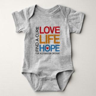 Find a cure for alexander disease, awareness shirt