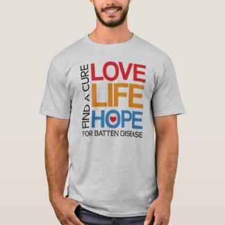 Find a cure for Batten disease - awareness shirt