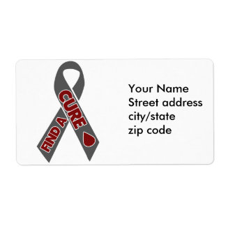 Find a cure for Diabetes Label