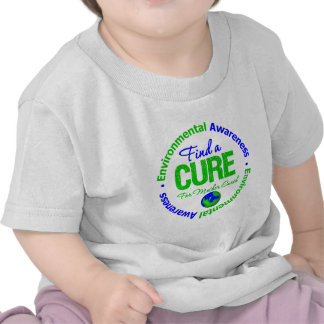 Find A Cure for Mother Earth Tee Shirts