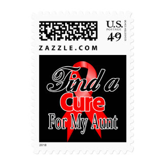 Find a Cure For My Aunt - Blood Cancer Stamps