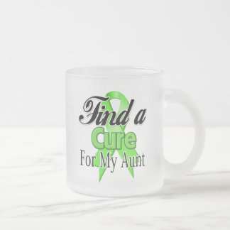 Find a Cure For My Aunt - Lymphoma Mugs