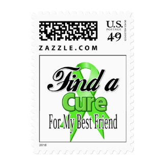 Find a Cure For My Best Friend - Lymphoma Postage Stamps