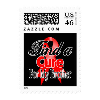 Find a Cure For My Brother - Blood Cancer Stamp
