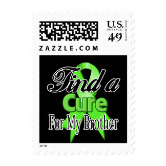 Find a Cure For My Brother - Lymphoma Stamps