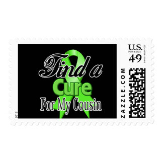 Find a Cure For My Cousin - Lymphoma Stamps
