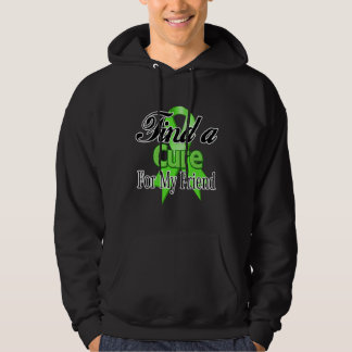 Find a Cure For My Friend - Lymphoma Hooded Pullovers