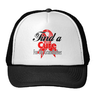 Find a Cure For My Grandfather - Blood Cancer Trucker Hats
