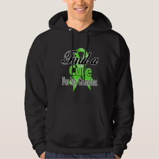Find a Cure For My Grandma - Lymphoma Hooded Sweatshirts
