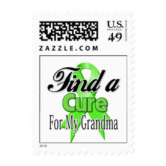 Find a Cure For My Grandma - Lymphoma Stamps