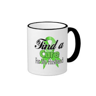 Find a Cure For My Husband - Lymphoma Coffee Mugs
