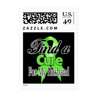 Find a Cure For My Husband - Lymphoma Postage
