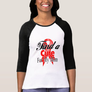 Find a Cure For My Mom - Blood Cancer Tees