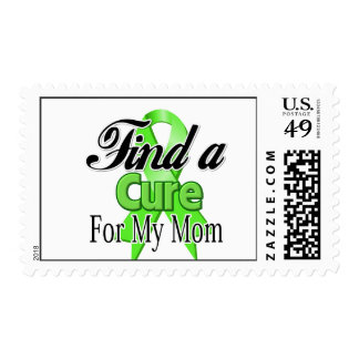 Find a Cure For My Mom - Lymphoma Postage Stamp