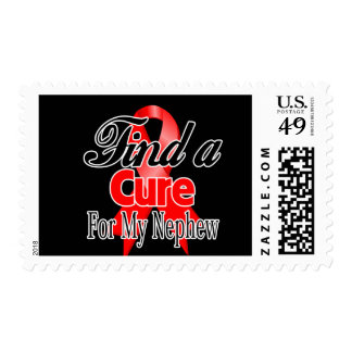 Find a Cure For My Nephew - Blood Cancer Stamp