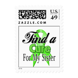 Find a Cure For My Sister - Lymphoma Stamp
