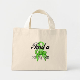 Find a Cure For My Son - Lymphoma Mini Tote Bag