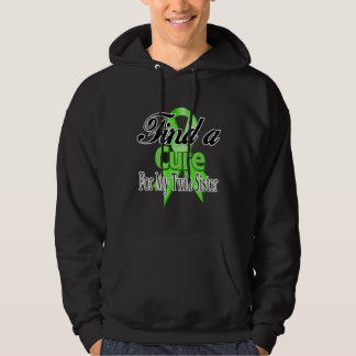 Find a Cure For My Twin Sister - Lymphoma Hooded Sweatshirts
