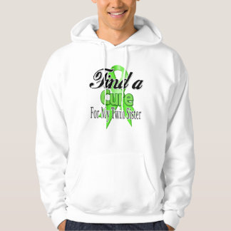 Find a Cure For My Twin Sister - Lymphoma Sweatshirt
