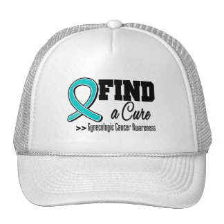 Find a Cure Gynecologic Cancer Awareness Trucker Hat