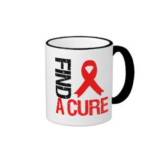 Find a Cure - Heart Disease Coffee Mug
