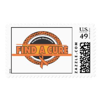 Find A Cure Leukemia Awareness Postage
