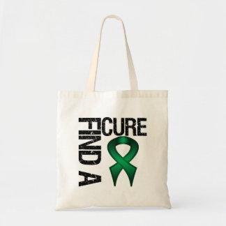 FIND A CURE Liver Cancer Canvas Bag
