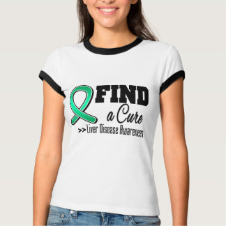 Find a Cure Liver Disease Awareness T-shirt