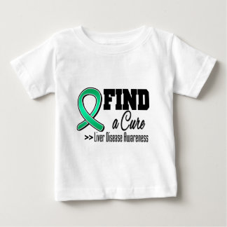 Find a Cure Liver Disease Awareness T Shirt