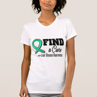 Find a Cure Liver Disease Awareness T Shirts