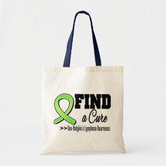 Find a Cure Non Hodgkins Lymphoma Awareness Budget Tote Bag