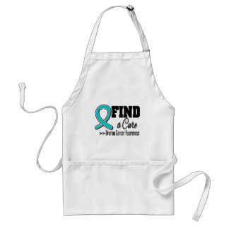 Find a Cure Ovarian Cancer Awareness Apron
