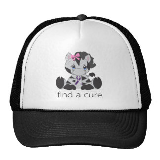 find a cure.png trucker hat