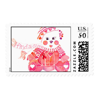 Find a Cure Postage Stamp