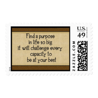 Find A Purpose Postage Stamp