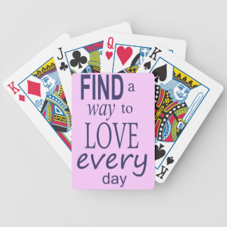 Find a Way Bicycle Playing Cards