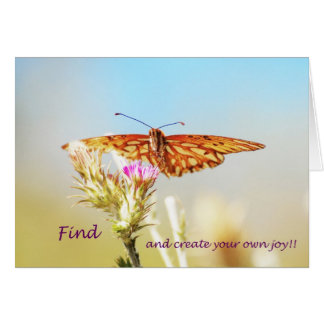 Find and create your own joy! card