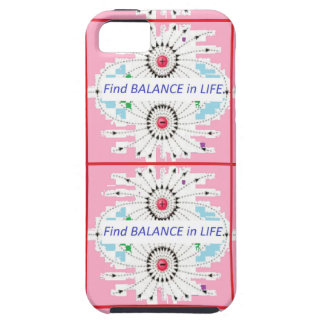 Find BALANCE in LIFE : Positive = Negative = balan iPhone 5 Cases