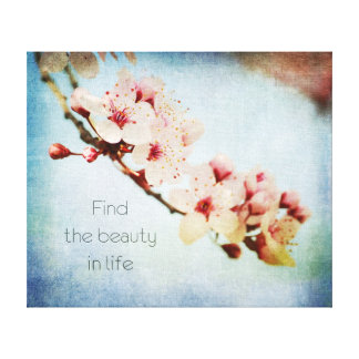 Find Beauty Canvas Print